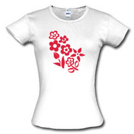 flowers t shirts