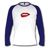 red lips t shirts
